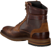Brown MAZZELTOV Lace-up boots J4997  - small