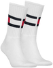 White TOMMY HILFIGER Socks TH FLAG - small
