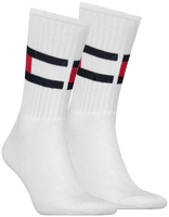 White TOMMY HILFIGER Socks TH FLAG - medium