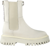 White BRONX Chelsea boots GROOV-Y 47268  - small