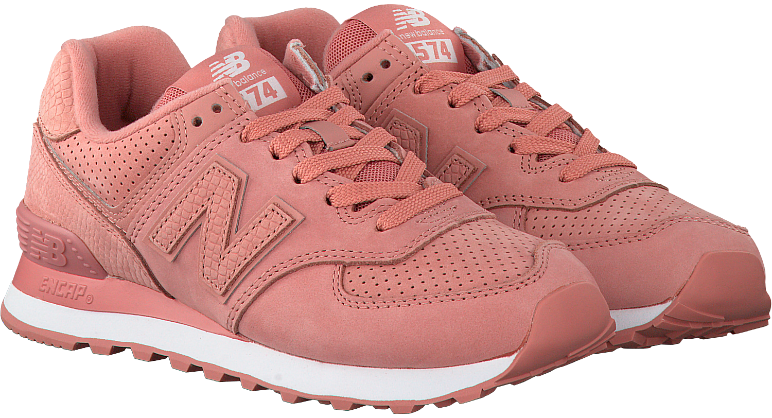 Pink NEW BALANCE Sneakers WL574 - Omoda.com