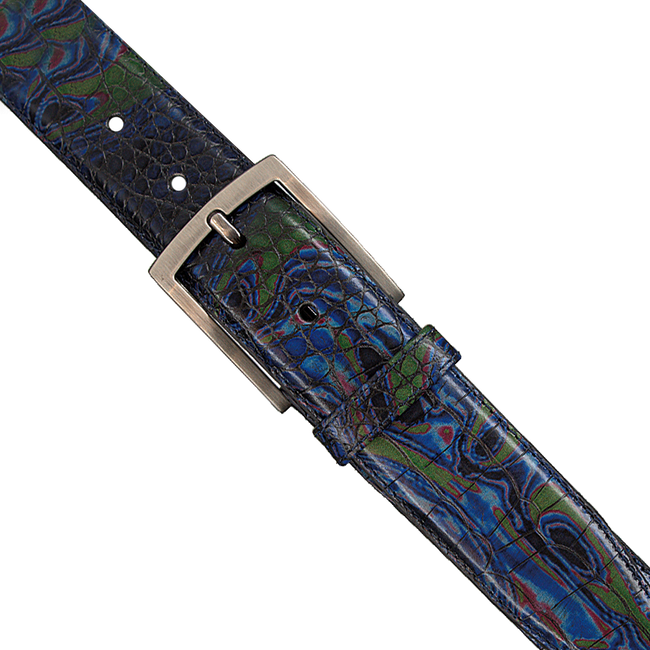 Blue FLORIS VAN BOMMEL Belt 75190 - large