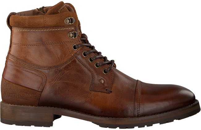 Brown MAZZELTOV Lace-ups MREVINHADE613.01OM  - large