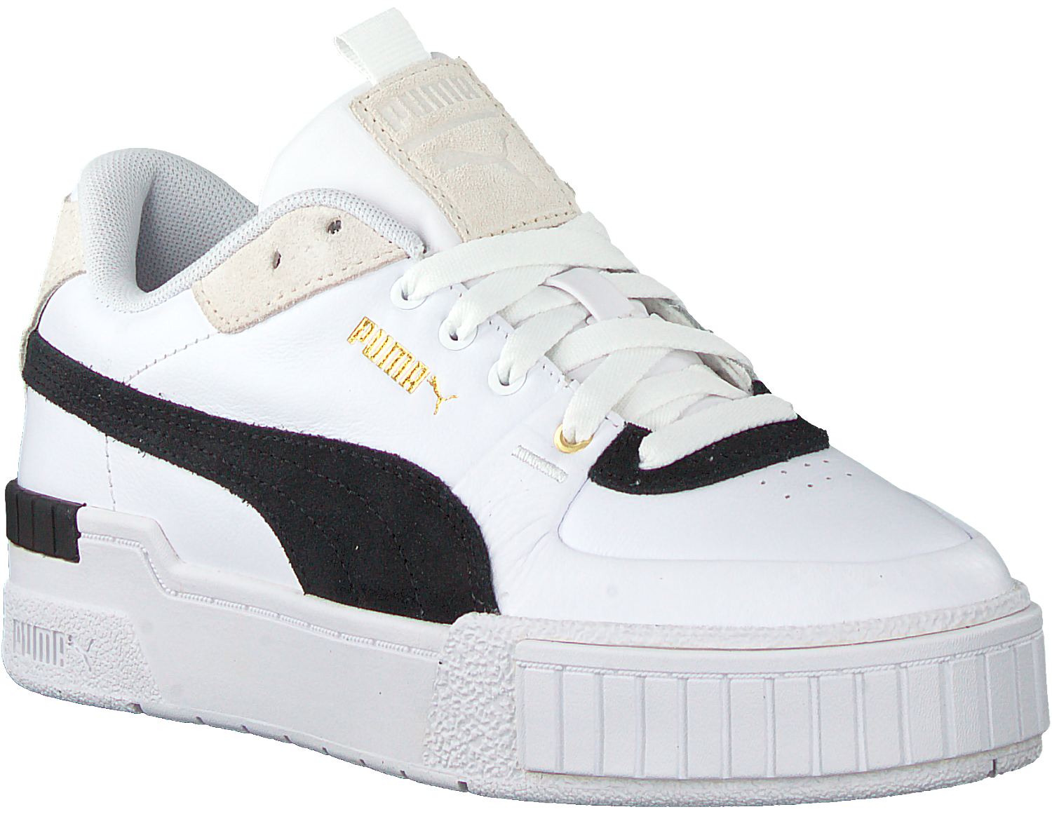 White PUMA Low sneakers CALI SPORT HERITAGE WN'S - Omoda.com