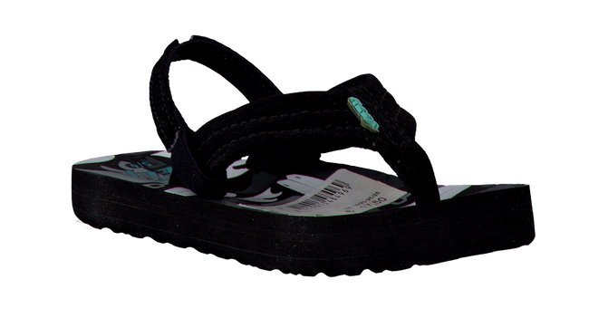 Black REEF Sandals R2345 MET BANDJE - large
