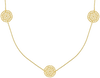 Gold JEWELLERY BY SOPHIE Necklace NECKLACE LITTLE ROUNDS - small