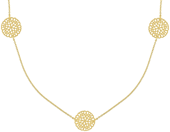 Gold JEWELLERY BY SOPHIE Necklace NECKLACE LITTLE ROUNDS - large
