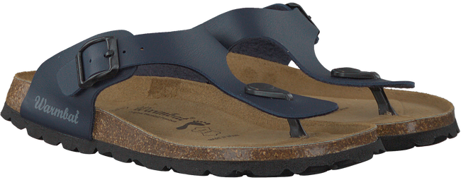Blue WARMBAT Flip flops 081503 - large
