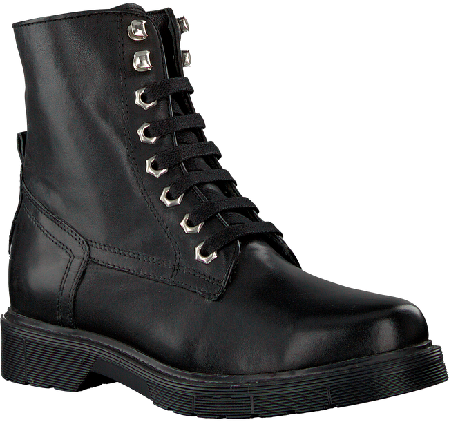 Black NIKKIE Lace-up boots BRANDED LACE BOOTS - large