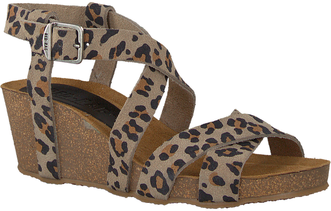 Beige RED RAG Sandals 78080  - large