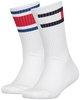 White TOMMY HILFIGER Socks TH KIDS FLAG 2P  - small