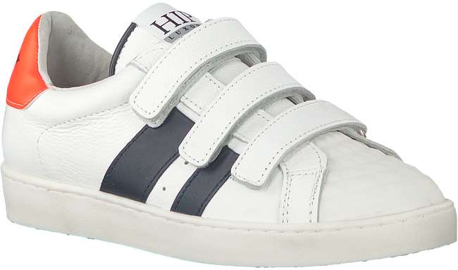 White HIP Sneakers H1733 - large