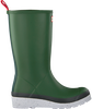 Green HUNTER Rain boots WOMENS PLAY TALL SPECKLE SOLE  - small