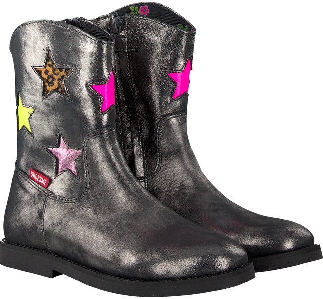 Silver SHOESME Booties S18W079 - large
