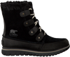 Black SOREL Ankle boots COZY JOAN - small