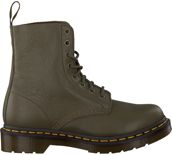 Green DR MARTENS Lace-up boots PASCAL - large