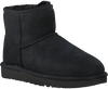 Black UGG Fur boots CLASSIC MINI II - small