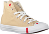 Beige CONVERSE High sneakers CHUCK TAYLOR AS LOVE  - small