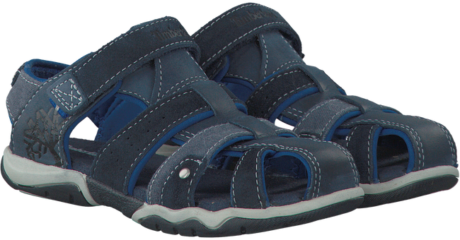 Blue TIMBERLAND Sandals PARK HOPPER L/F FISHERMAN KIDS - large