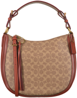 Cognac COACH Handbag SUTTON HOBO  - medium
