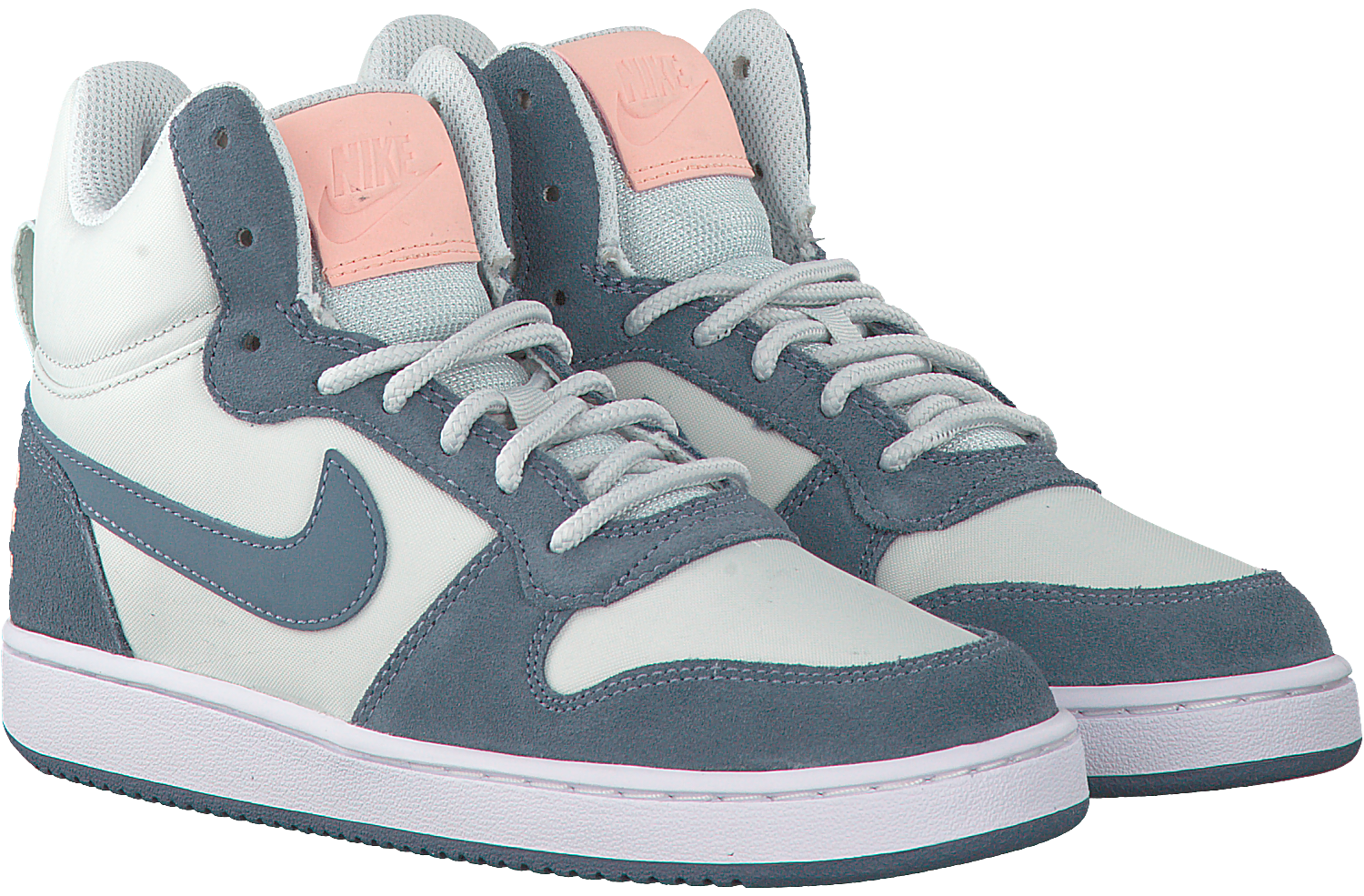 Blue NIKE Sneakers COURT BOROUGH MID PREM DAMES - Omoda.com
