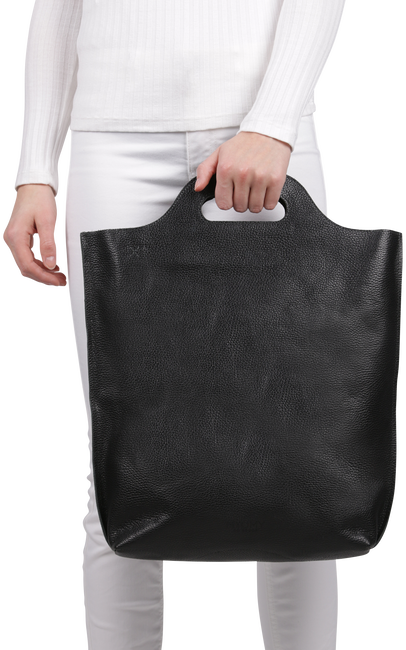 Black MYOMY Handbag CARRY SHOPPER - large