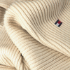White TOMMY HILFIGER Scarf ESSENTIAL KNIT SCARF  - small