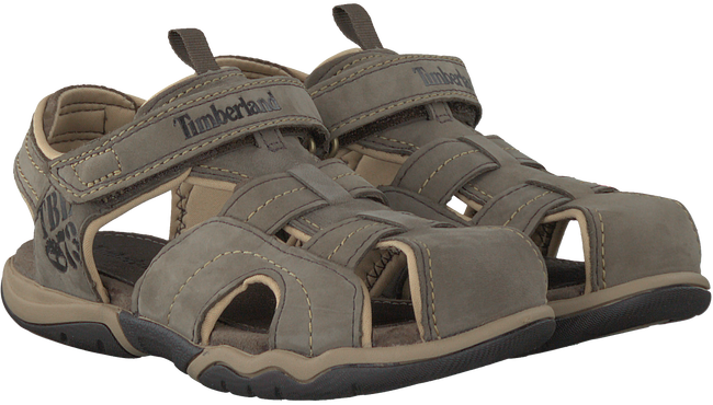 Taupe TIMBERLAND Sandals OAK BLUFFS LEATHER FISHERMAN - large