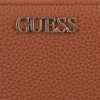 Cognac GUESS Wallet ALBY SLG LARGE ZIP AROUND  - small