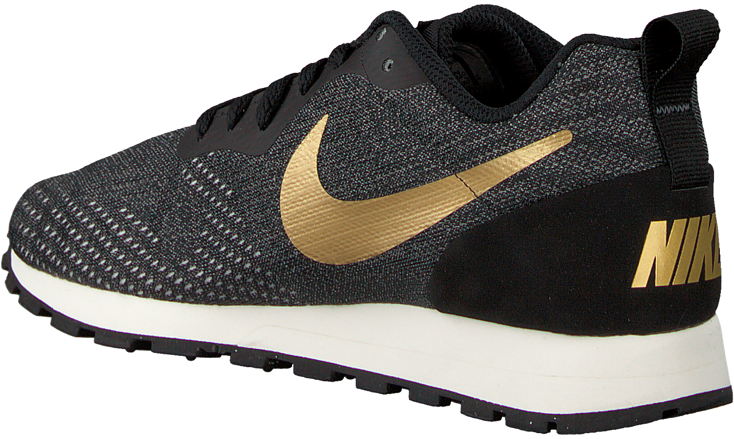 Black NIKE Sneakers MD RUNNER DAMES - Omoda.com