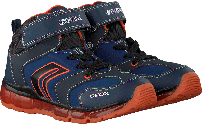 Blue GEOX Sneakers J8444B - large
