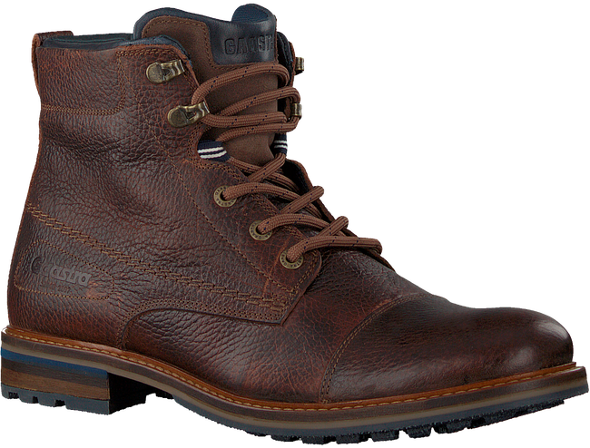 Brown GAASTRA Lace-up boots BERKLEY HIGH TMB  - large