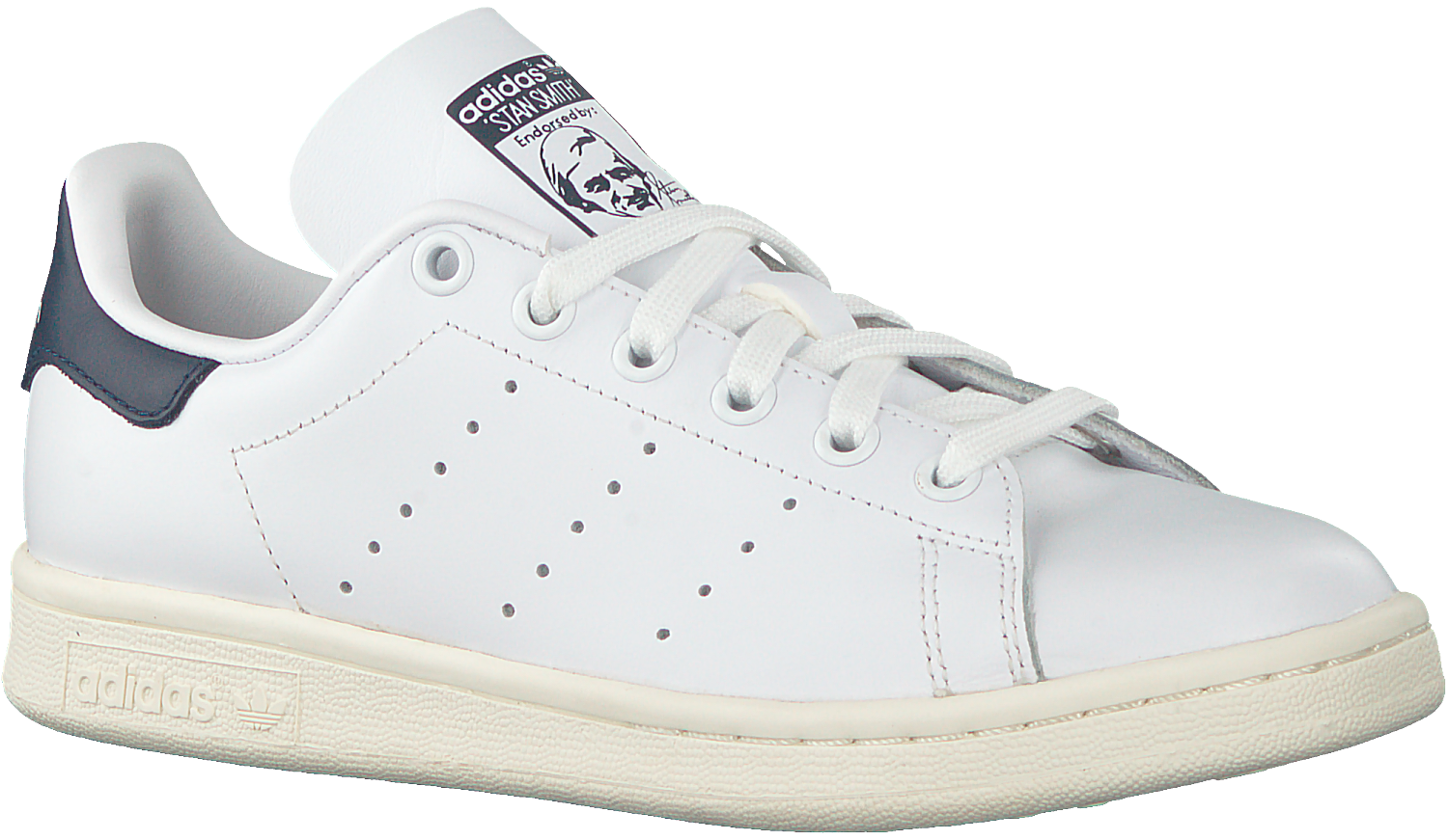White ADIDAS Low sneakers STAN SMITH DAMES - Omoda.com