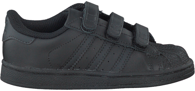 Black ADIDAS Sneakers SUPERSTAR CF - large