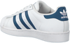 White ADIDAS Sneakers SUPERSTAR J  - small