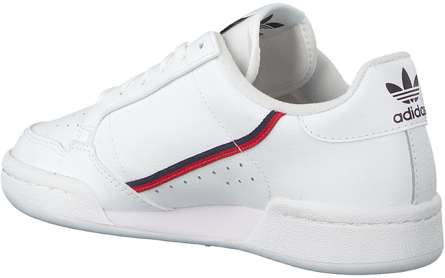 White ADIDAS Sneakers CONTINENTAL 80 J  - large