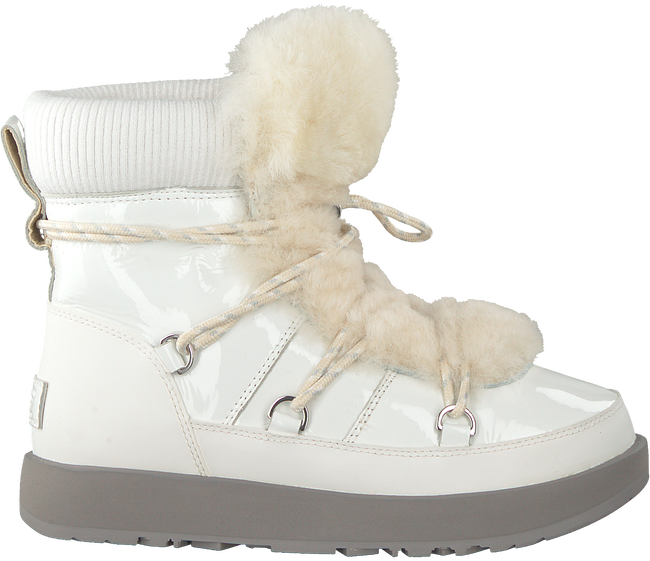 White UGG Fur boots HIGHLAND WATERPROOF - large