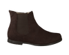 Brown UNISA High boots LERYN - small