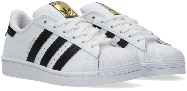 White ADIDAS Low sneakers SUPERSTAR C  - large