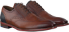 Cognac FLORIS VAN BOMMEL Business shoes 19062 - small