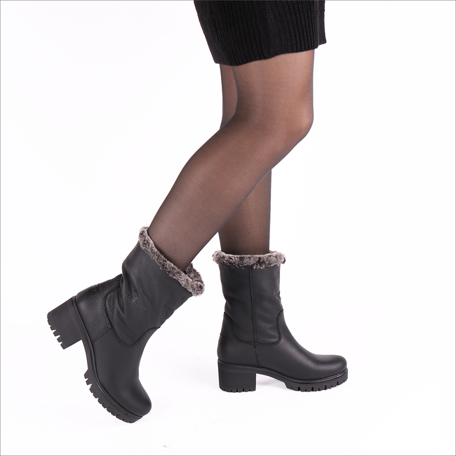Black PANAMA JACK Booties PIOLA B11 - large