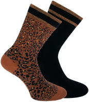 Brown XPOOOS Socks BELLA  - medium