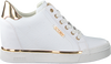 White GUESS Sneakers FLOWURS STIVALETTO  - small