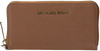 Cognac MICHAEL KORS Wallet JET SET TRAVEL LG COIN MF - small