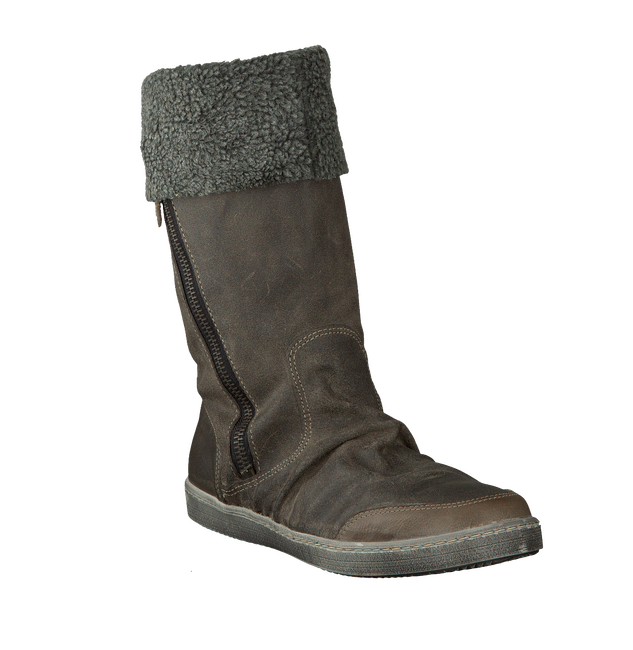 Taupe BULLBOXER Fur boots ACE 505 - large