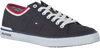 Blue TOMMY HILFIGER Sneakers CORE CORPORATE TEXTILE SNEAKER - small