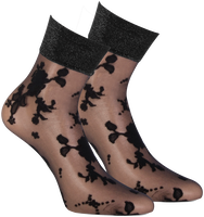 Bronze MARCMARCS Socks FLOWER LUREX  - medium