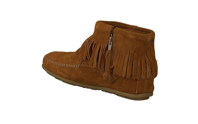 Cognac MINNETONKA Booties 527T - large