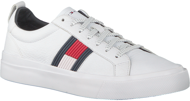White TOMMY HILFIGER Sneakers FLAG DETAIL  - large