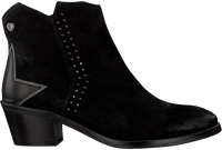 Black FABIENNE CHAPOT Booties ANNIE STUDDED BOOT  - medium